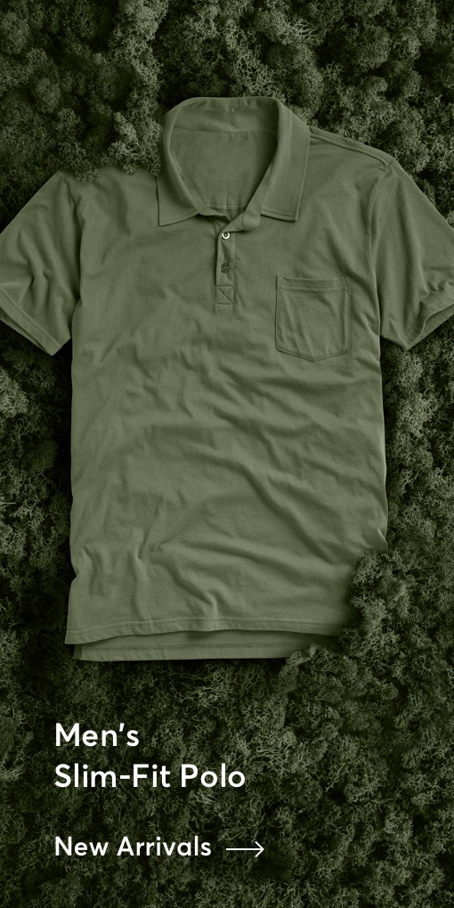 Men's Slim-Fit Polo Tee