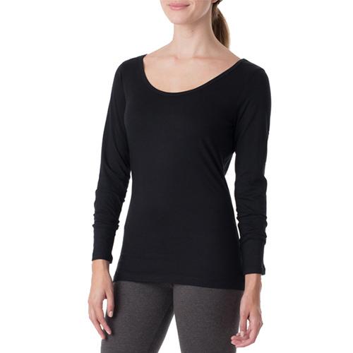 Women's Super Soft Organic Cotton Long Sleeve Tee Shirt | PACT Apparel