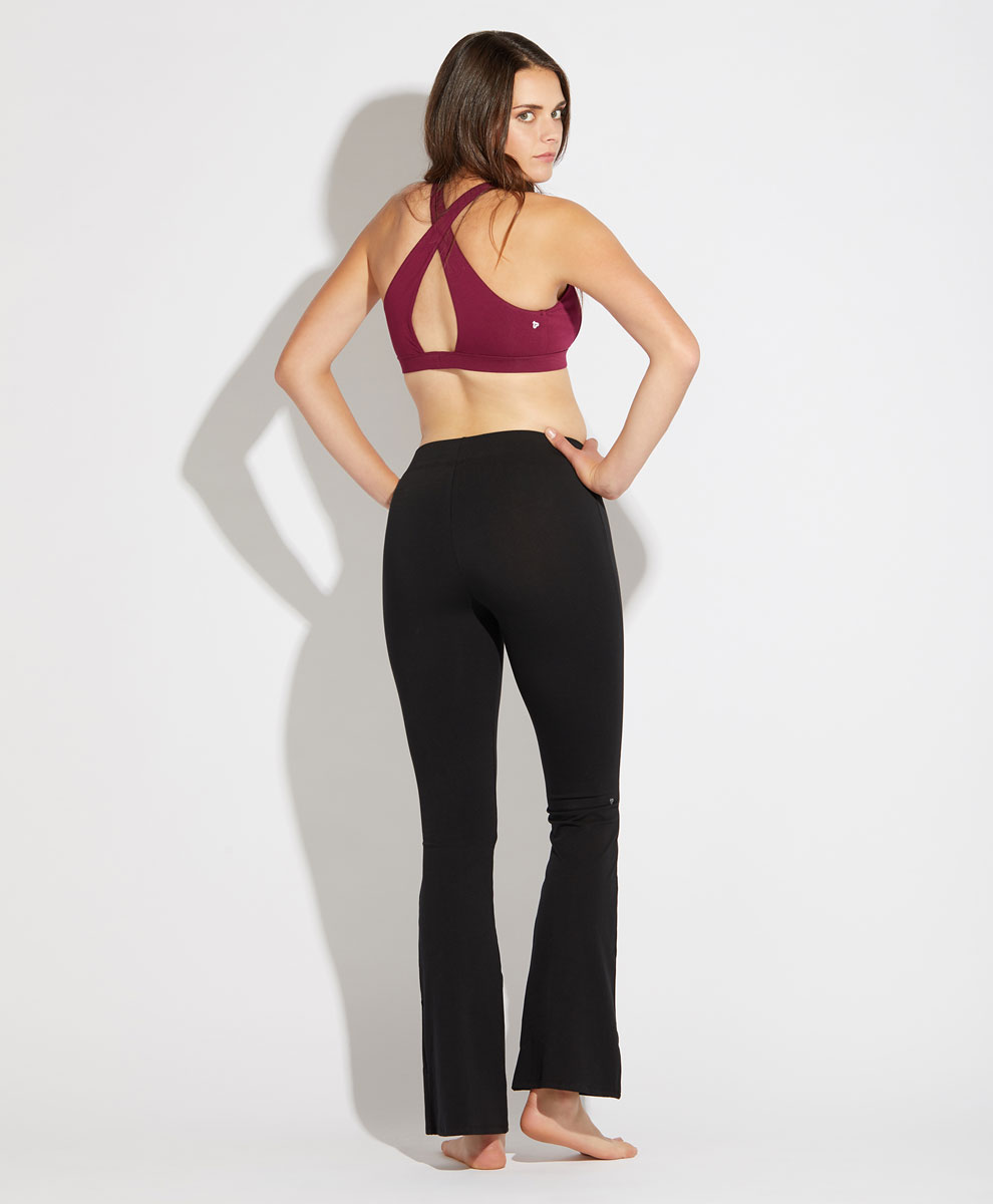 a0c0cc3638 Women's Stretch-Fit Flare Yoga Pants made with Organic Cotton | Pact