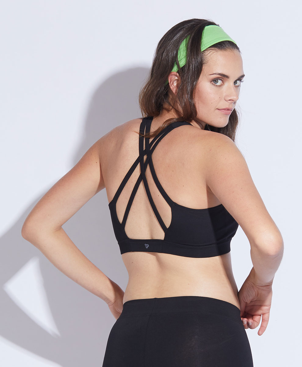 ef452436820 Women s Strappy-Back Sports Bra made with Organic Cotton