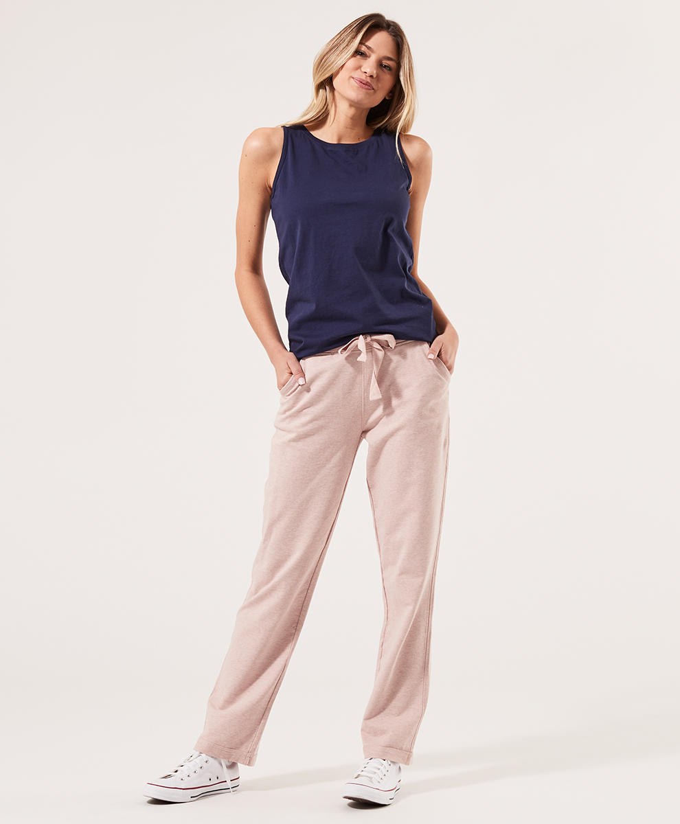 blush pink casual pants - Pact